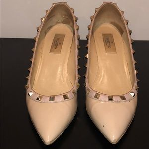 Authentic Valentino Rockstud Wedges Size 38.5